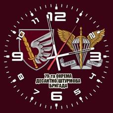 Годинник 79 ОДШБр ДШВ (скло) марун 2 знаки