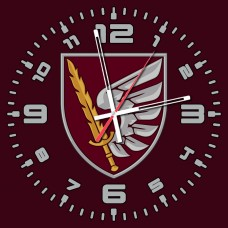 Годинник 79 ОДШБр ДШВ (скло) марун