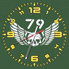 Годинник 79 бригада ВДВ-ДШВ (скло)
