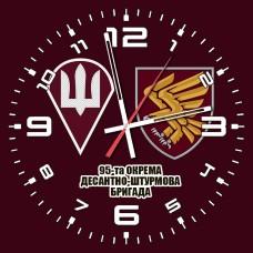 Годинник 95 ОДШБр ДШВ (скло) марун 2 знаки