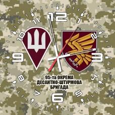 Купить Годинник 95 ОДШБр ДШВ (скло) піксель 2 знаки в интернет-магазине Каптерка в Киеве и Украине