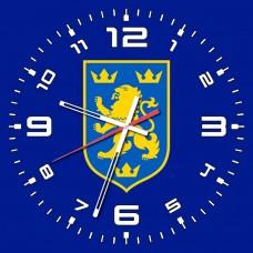 Годинник Галичина (синій)