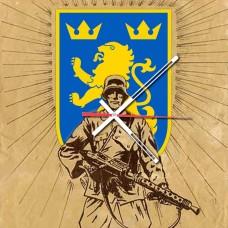 Годинник Галичина Дивізійник з кулеметом