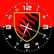 Годинник 55 ОАБр червоно чорний варіант