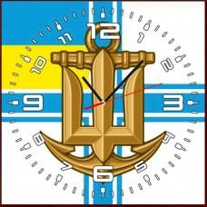 Годинник ВМСУ (скло)