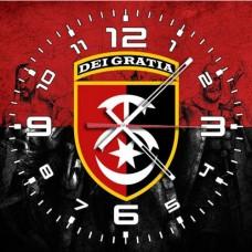 Купить Годинник 30 ОМБр (червоно-чорний варіант) в интернет-магазине Каптерка в Киеве и Украине
