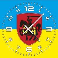 Годинник 54 ОМБр (неофіційний знак жовто-блакитний)