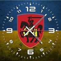 Годинник 54 ОМБр (неофіційний знак жовто-блакитний варіант)