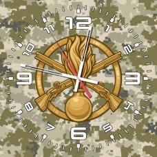 Годинник Піхота (скло) піксель