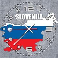 Годинник Словенія (скло)