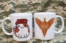Керамічна чашка Котик-Десантник