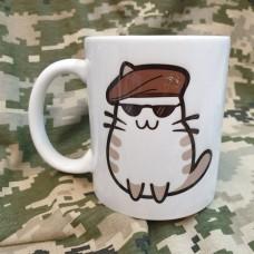 Керамічна чашка Котик Спеціальних Операцій