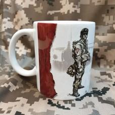 Керамічна чашка ДШВ Paratrooper