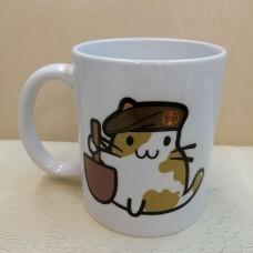 Керамічна чашка Котик-Піхотинець