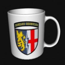 Керамічна чашка 1 Галицько-Волинська радіотехнічна бригада