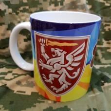Керамічна чашка 80 ОДШБр Завжди перші!