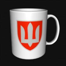 Керамічна чашка ВСП (біла)
