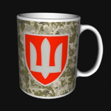 Купить Керамічна чашка ВСП (піксель) в интернет-магазине Каптерка в Киеве и Украине