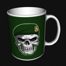 Керамічна чашка ДПСУ з черепом в береті