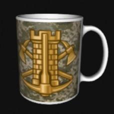 Керамічна чашка Інженерні війська Піксель