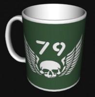 Керамічна чашка 79 бригада ВДВ ДШВ знак з броні
