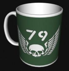 Купить Керамічна чашка 79 бригада ВДВ ДШВ знак з броні в интернет-магазине Каптерка в Киеве и Украине