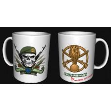 Керамічна чашка Піхота Смерть ворогам! позивний на замовлення