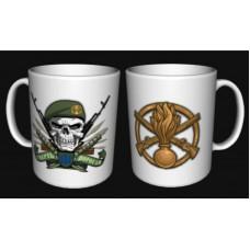 Керамічна чашка Піхота Смерть ворогам!