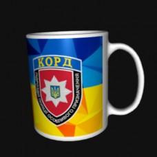 Керамічна чашка КОРД