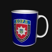 Керамічна чашка КОРД синя