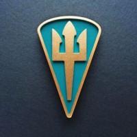 Магнітик Нарукавний знак морської піхоти Військово-морських сил ЗСУ