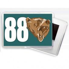 Купить Магнітик 88 ОБМП  в интернет-магазине Каптерка в Киеве и Украине