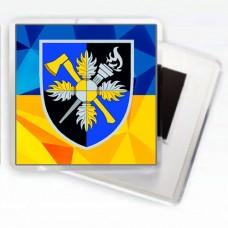 Купить Магнітик Об'єднаний навчально-тренувальний центр Сил підтримки ЗСУ в интернет-магазине Каптерка в Киеве и Украине