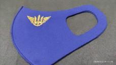 Маска з вишивкою Авіація