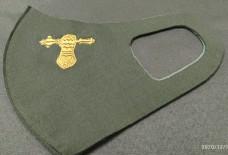 Маска з вишивкою Танкові війська ЗСУ