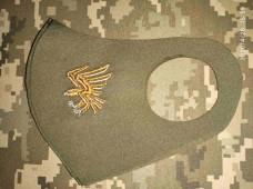 Маска з вишивкою 95 ОДШБр (птах)
