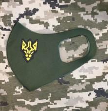Купить Маска з вишивкою Батальйон ім. генерала Кульчицького НГУ в интернет-магазине Каптерка в Киеве и Украине