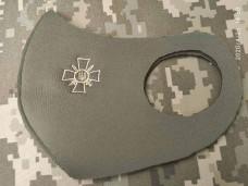 Маска з вишивкою ЗСУ (крест)