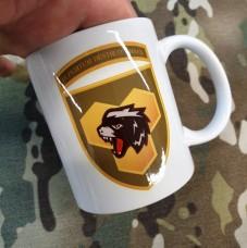 Керамічна чашка Медоїд (неформальний тотем української піхоти)