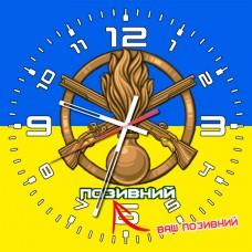 Годинник Піхота (скло) Позивний на замовлення UA
