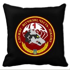 Декоративна подушка 1 ДШБ 79 бригада ДШВ чорна