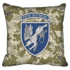 Декоративна подушка 204 бригада тактичної авіації (піксель)