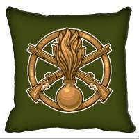 Декоративна Подушка Піхота (олива)