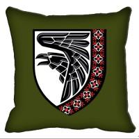 Декоративна подушка 93 ОМБр знак вишиванка Олива