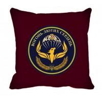 Декоративна подушка Батальйон Фенікс (марун)