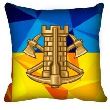 Купить Декоративна подушка Інженерні Війська в интернет-магазине Каптерка в Киеве и Украине