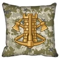 Декоративна подушка Інженерні Війська (піксель)