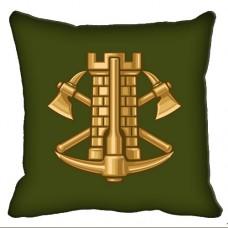 Купить Декоративна подушка Інженерні Війська (зелена) в интернет-магазине Каптерка в Киеве и Украине
