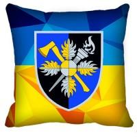 Декоративна подушка Об'єднаний навчально-тренувальний центр Сил підтримки ЗСУ