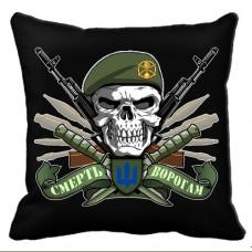 Декоративна Подушка Піхота (чорна)